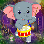 Games4King Dancing Elephant Rescue