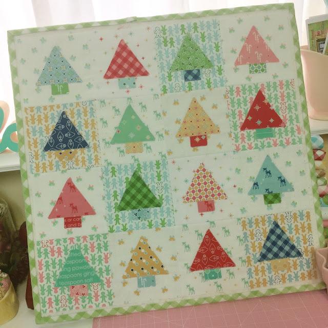 Bee In My Bonnet: Cozy Christmas Sew Along - Cute Little Trees ...