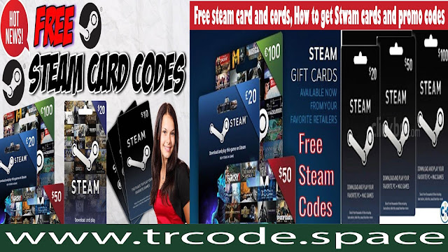 Free steam gift card codes, How to get steam promo code
