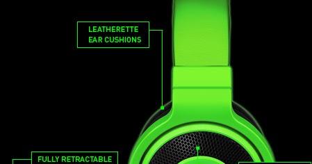 Razer Kraken Pro Analog Gaming Headset Latest Gadget