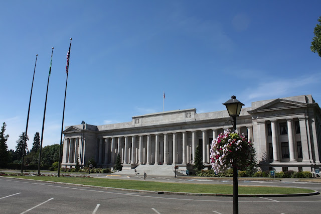 Temple of Justice housing the Washington Supreme Court in Olympia, Washington