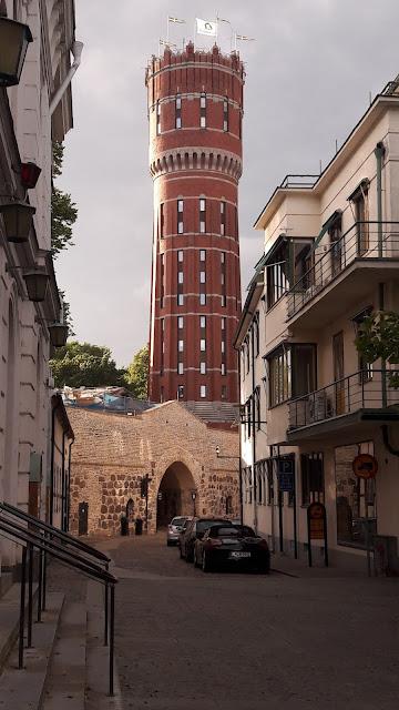 Wieża w centrum Kalmaru