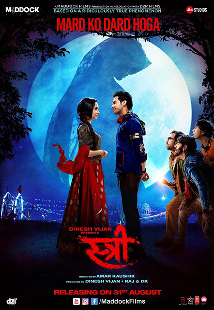 poster Stree 2018 Full Hindi Movie Download Hd Pre DVDRip 700Mb