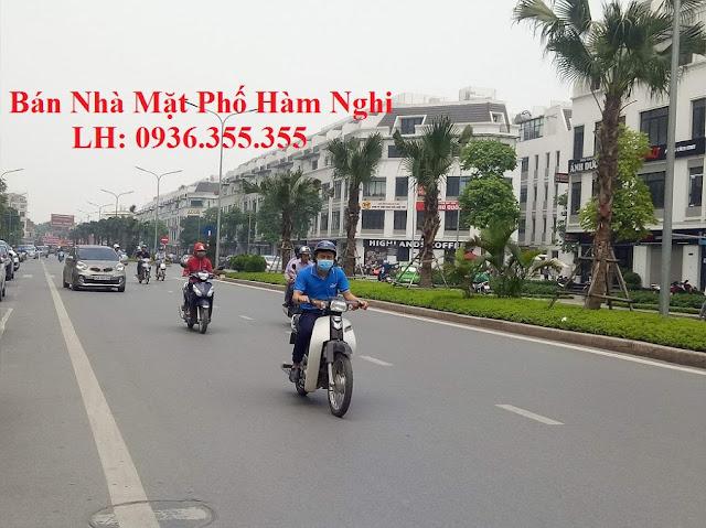 bán nhà mặt phố Hàm Nghi, Nguyễn Hoàng