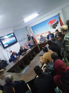 أجتمعت أمانة القاهرة حزب حماة الوطن لمناقشة التعديلات الدستورية والاستعداد لها .