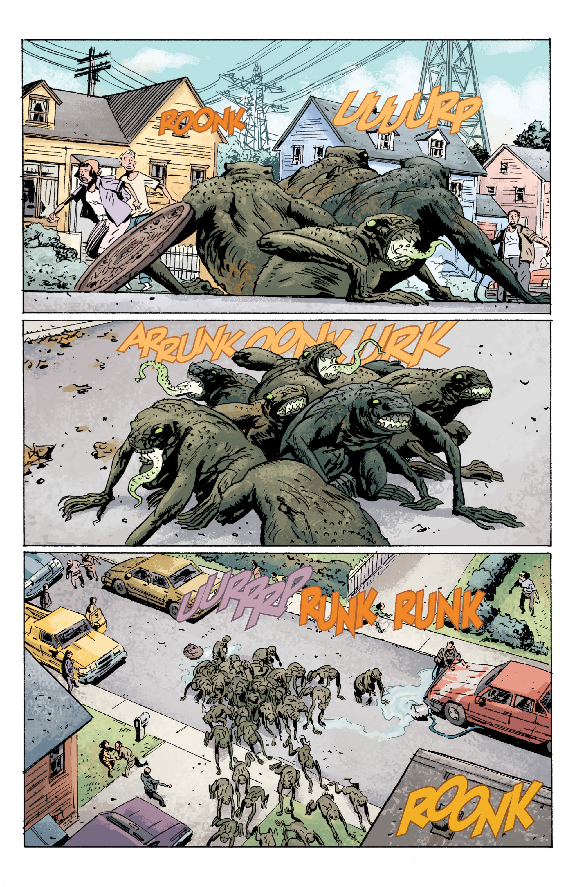 Read online B.P.R.D. (2003) comic -  Issue # TPB 5 - 98