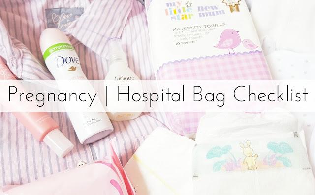 Pregnancy | Hospital Bag Checklist