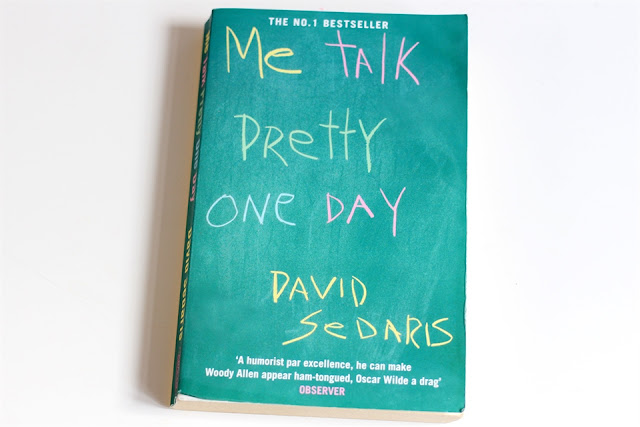 "david sedaris me talk pretty one day essay Write an essay (900-1200 words) in which you analyse and comment on david sedaris' essay ""me talk pretty one day"" part of your essay must focus on the writer."