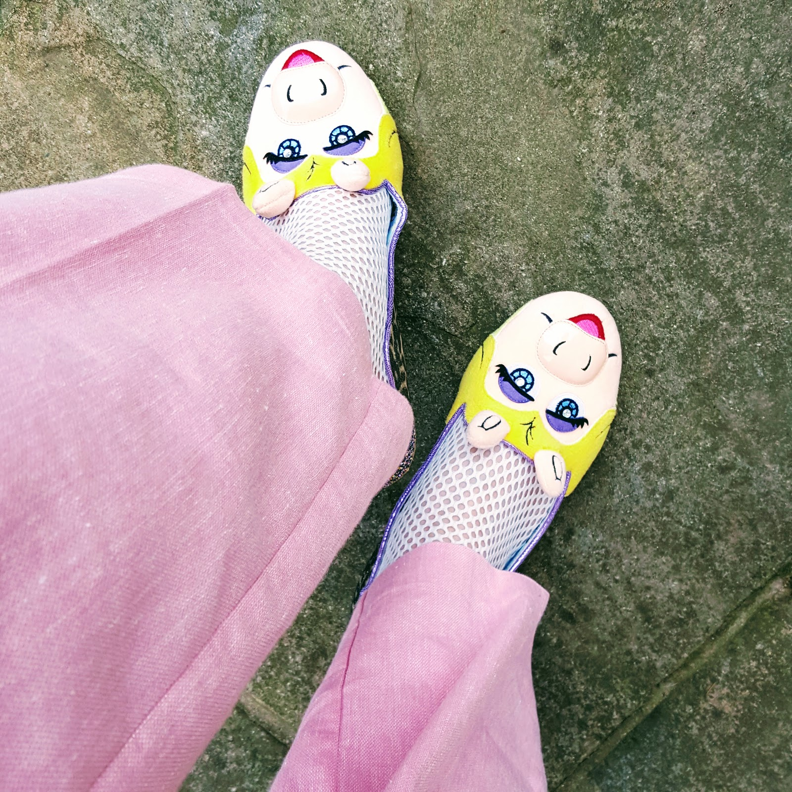 Pink Trousers And Miss Piggy Shoes