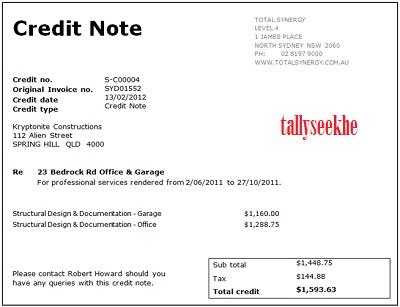 Debit Note Credit Note Sale Purchase Return In Hindi