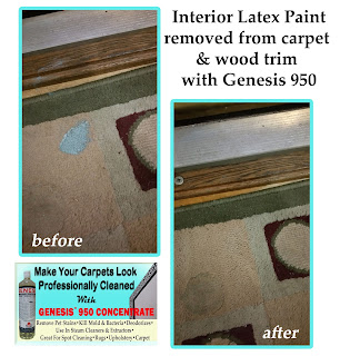 how to clean off latex paint