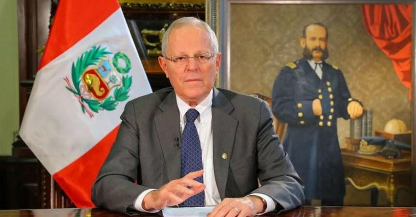PPK tomará juramento a nuevos ministros este domingo a las 16:30 horas, en Palacio de Gobierno