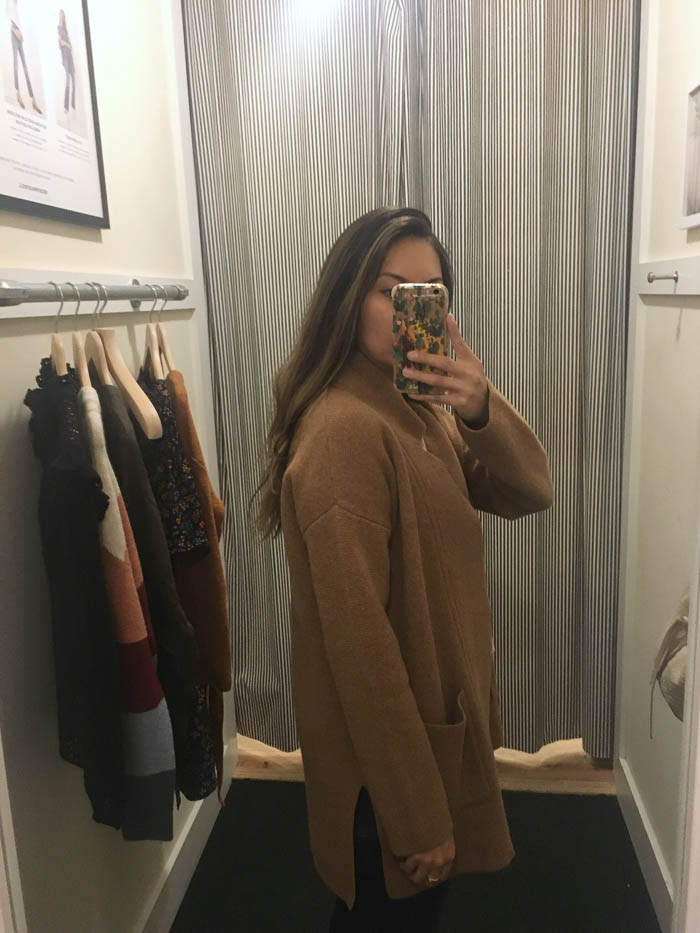 Adri Lately Madewell Try On Early Fall