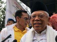 Kiai Ma'ruf Ajak Warga Indonesia Bersatu dan Kubur Istilah Cebong dan Kampret