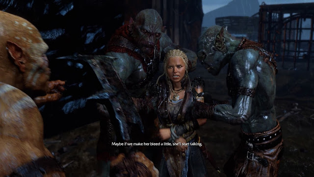 Screenshot from Shadow of Mordor