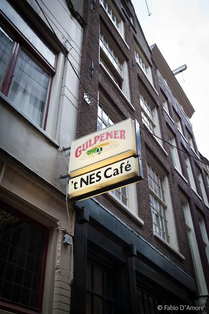 Insegna caffè-Amsterdam