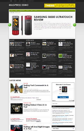Mevine Free WordPress Theme
