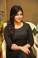 Anjali in Black Short Dress at Chitrangada Movie Success Meet ~  016.JPG