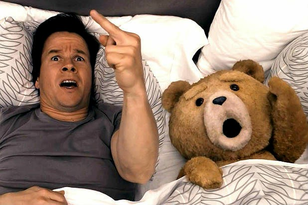 dd3761bf5e9 So here s where we are at the start of this seemingly uncalled for comedy  sequel  talking teddy Ted (voiced by writer-director and Family Guy creator  Seth ...