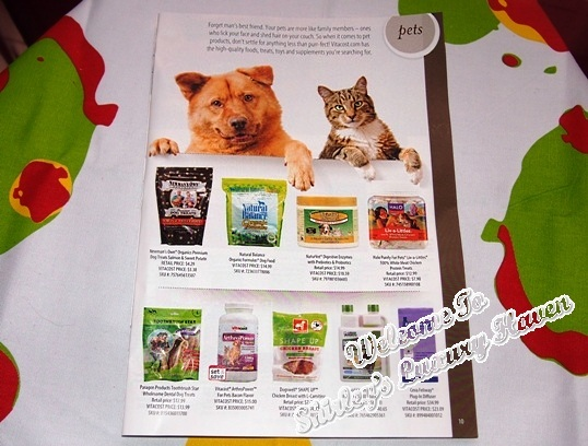vitacost online shopping pet food