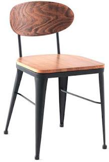 silla forja estilo actual bares
