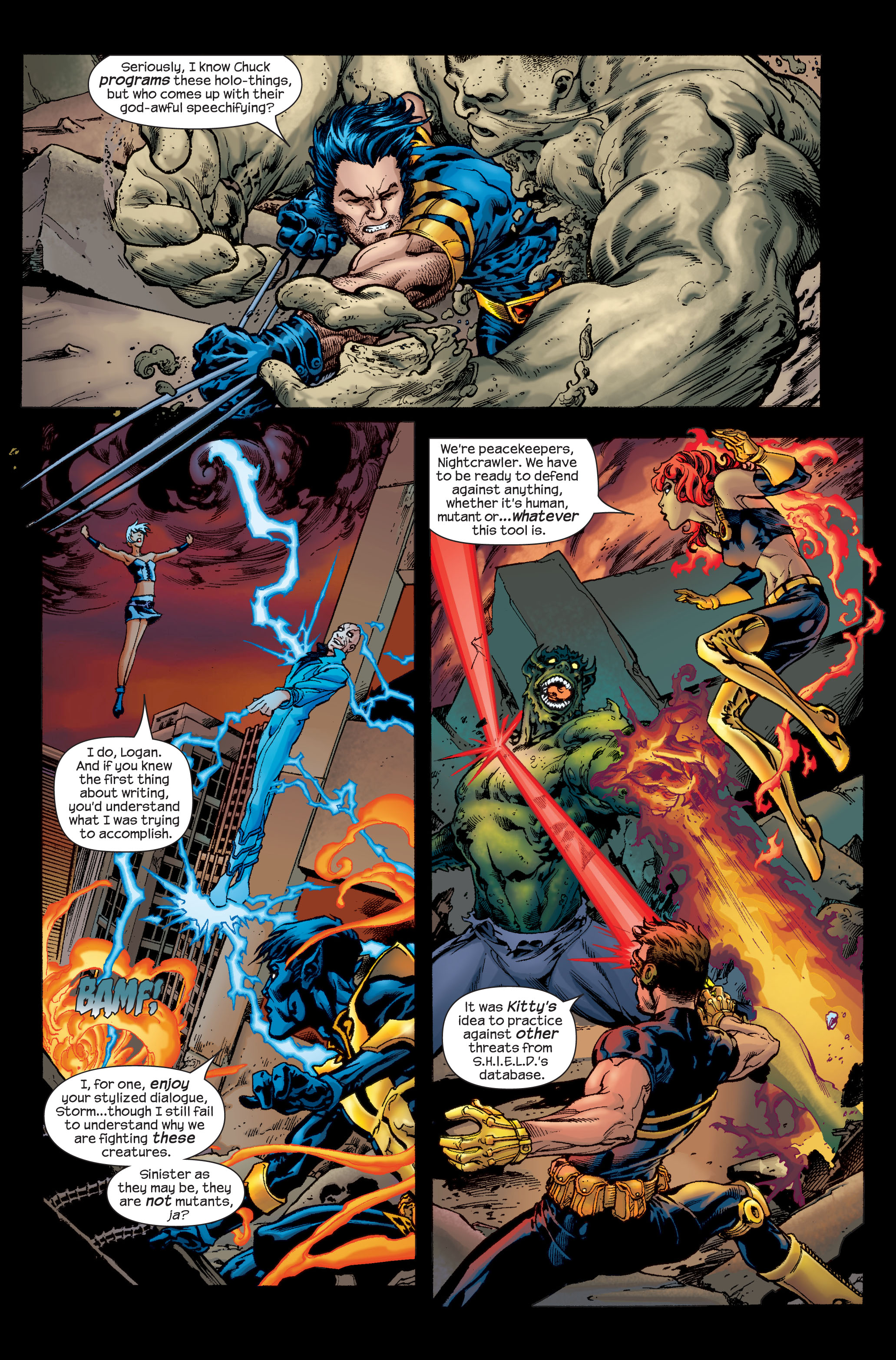 Read online Ultimate X-Men comic -  Issue # _Annual 1 - 4