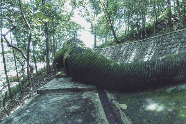Spot Foto Keren di Kawasan Wisata Batu Seribu Sukoharjo