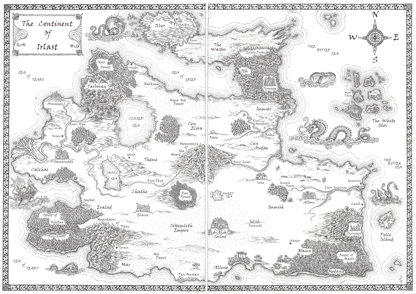 a Fantasy Reader: Index of maps on