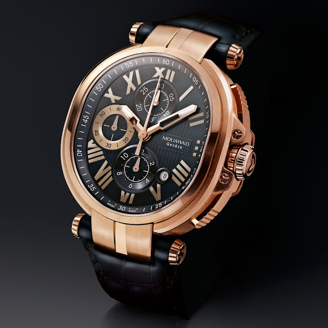 Mouawad Grande Ellipse Royale Chronograph Watch