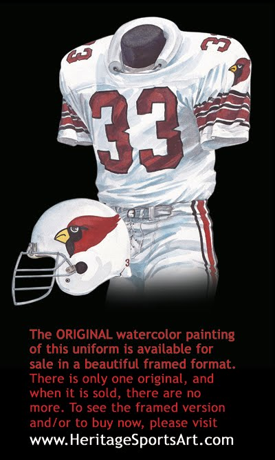 4fb68865f629 Arizona Cardinals Uniform and Team History