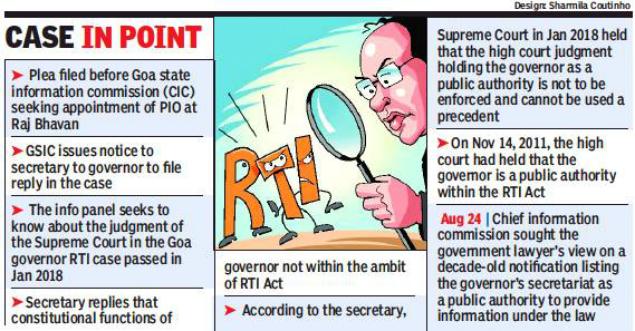 MAHITI ADHIKAR GUJARAT PAHEL: Information panel cites 10