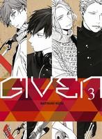 Critique Manga, Given, Kizu Natsuki, Manga, Taifu Comics, Yaoi Blue,