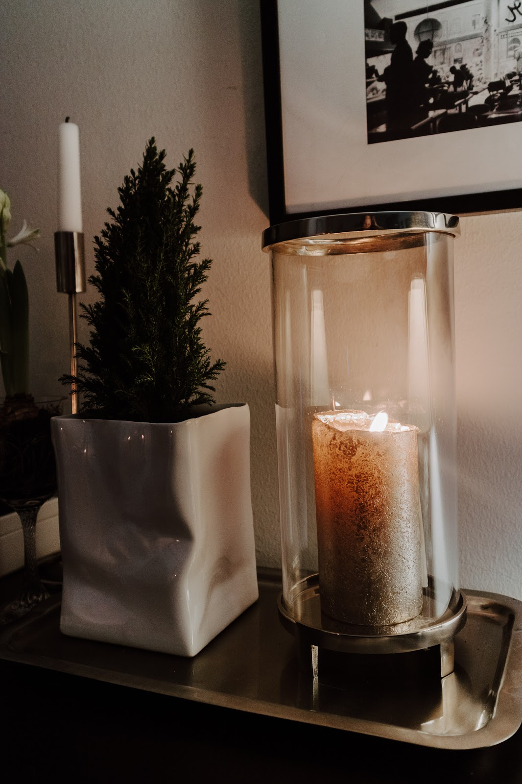 talvi, koti, sisustus, kynttilälyhty, Classic collection, klassisen boheemi