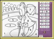 http://www.pepit.be/exercices/primaire1/mathematique/additcolorier/COLOR01.html