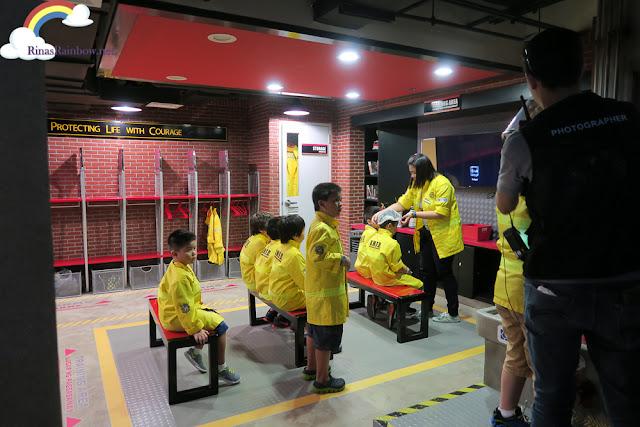 Kidzania Manila Fire station