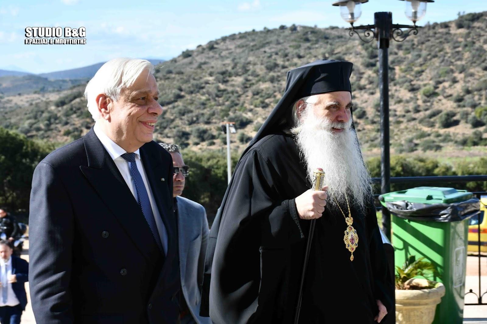 Το Ναύπλιο εόρτασε τον Πολιούχο του Άγιο Αναστάσιο παρουσία του Προέδρου της Δημοκρατίας