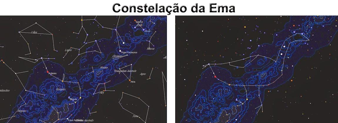 constelação da Ema