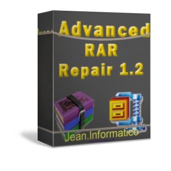 Advance RAR Repair 1.2 Programa para Reparar Partes