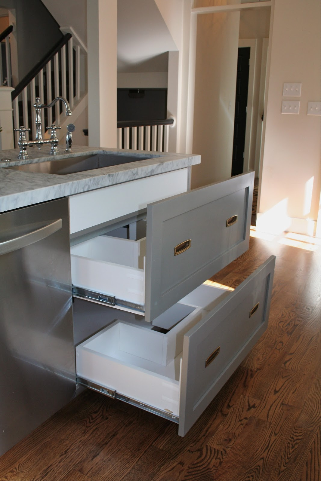 Costco Kitchen Stainless Steel Prep Table Design Dump: Drawers Under The Sink