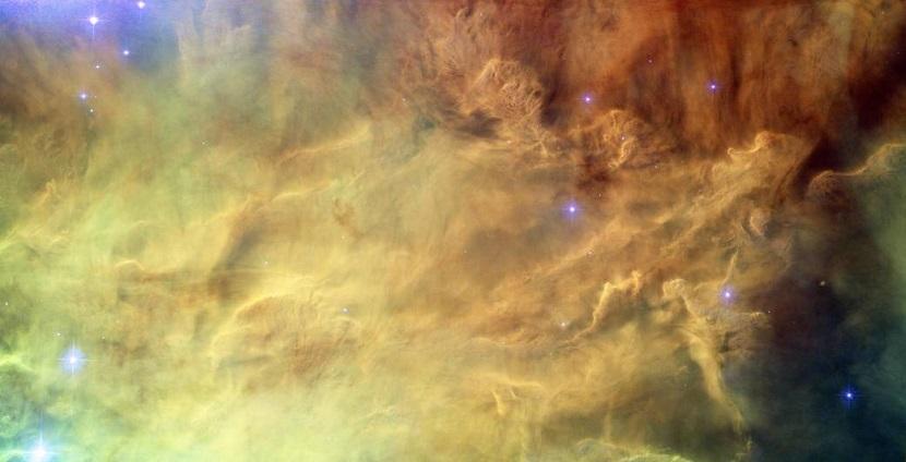 Hubble's Lagoon