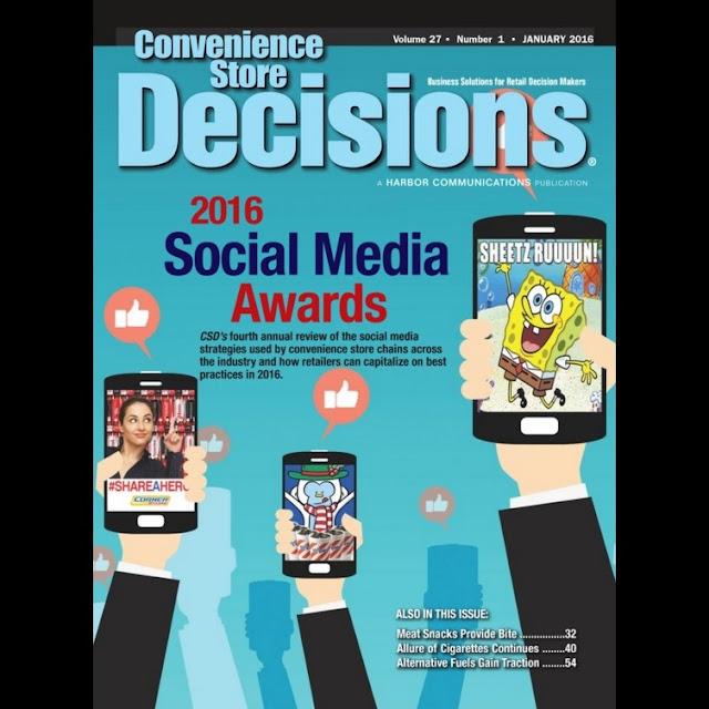 Mike Schiemer Seasons Corner Market Convenience Store 2016 Social Media Awards