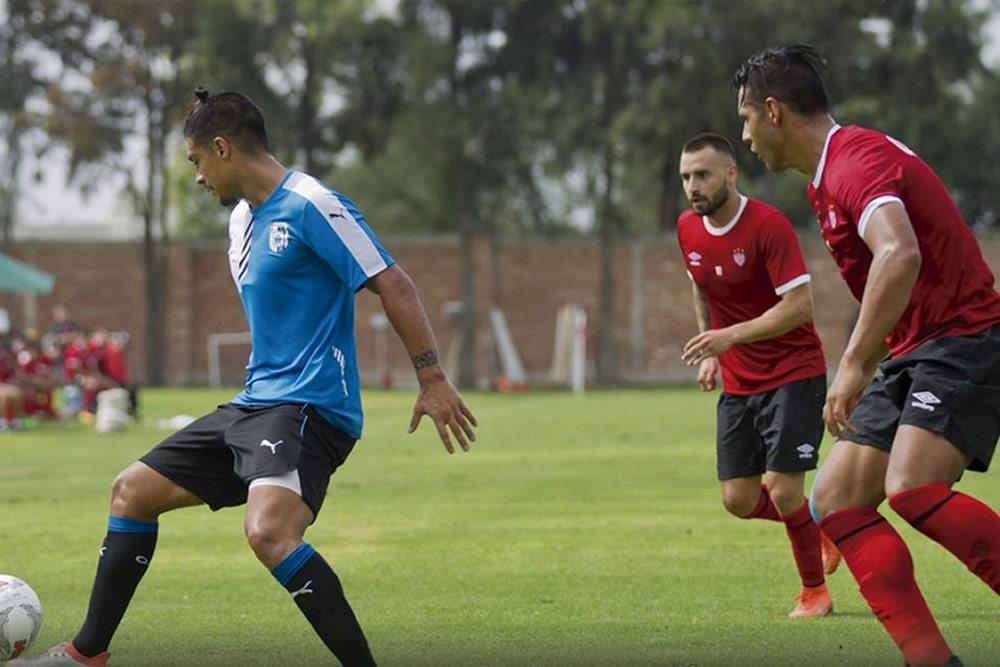 Necaxa empató 3-3 con Querétaro en duelo amistoso