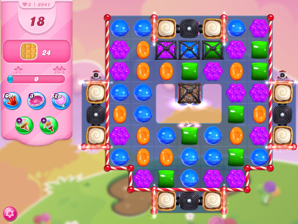 Candy Crush Saga level 3941