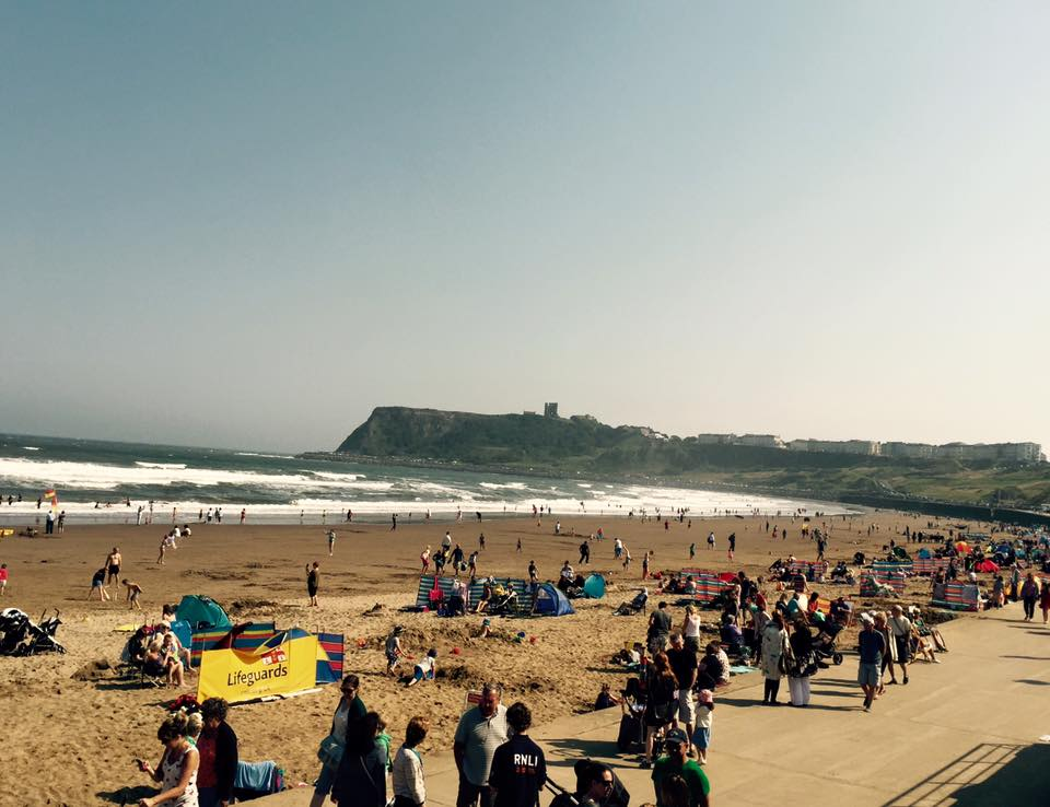 The Best Family Days Out in North Yorkshire  - Scarborough Beach