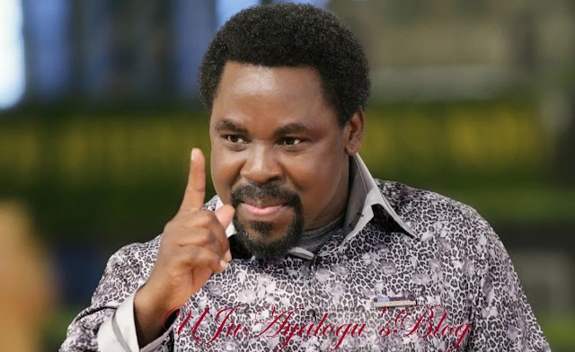 Prophet TB Joshua reacts to prophecy about Biafran youth, says he did not mention their name (video)