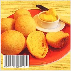 Pão de queijo receita simples