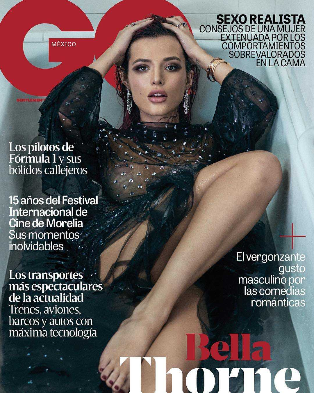 Bella Thorne in GQ Mexico Magazine Photoshoot – October 2017