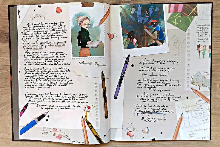 Les carnets de Cerise tome 1 page