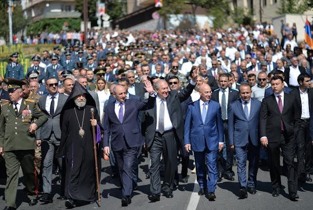 Artsaj celebra el 27 aniversario de la independencia