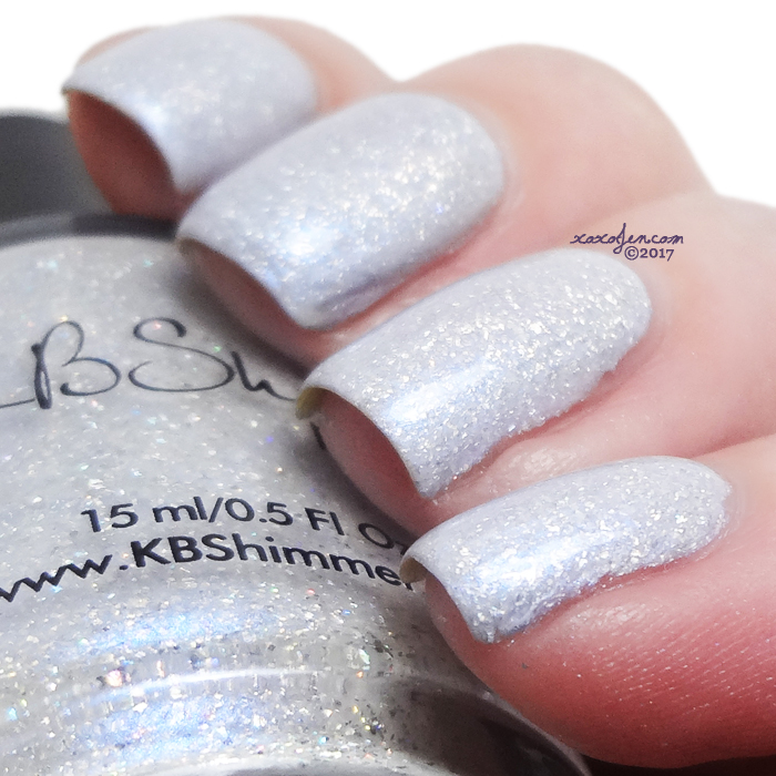 ox'KBShimmer Up To Snow的色板